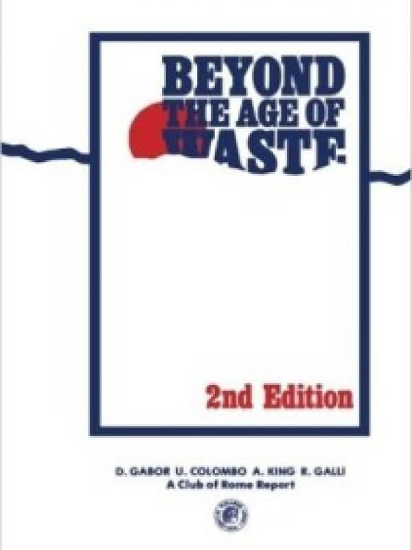 Beyond the Age of Waste<span> – 1978</span>