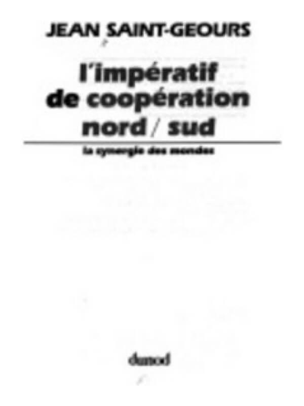 L'Impératif de Coopération Nord / Sud<span> – 1981</span>