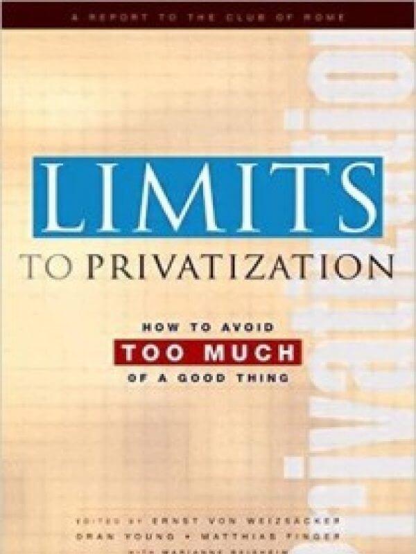 Limits to Privatization<span> – 2005</span>