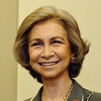 Queen Doña Sofia of Spain