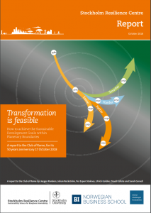 Transformation is Feasable: A New Report to the Club of Rome