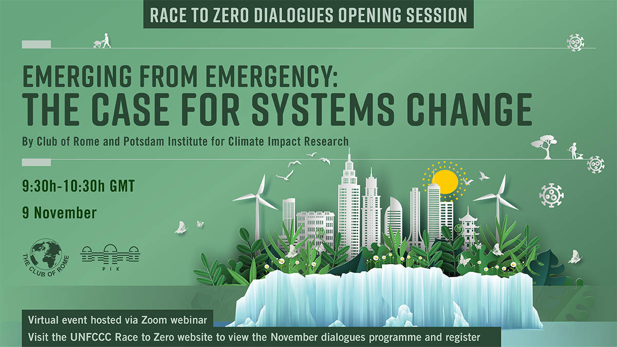 Race-to-Zero Opening Sessions