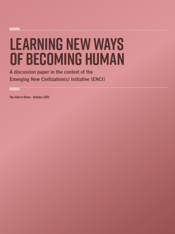 Learning New Ways of Becoming Human<span> – 2020</span>